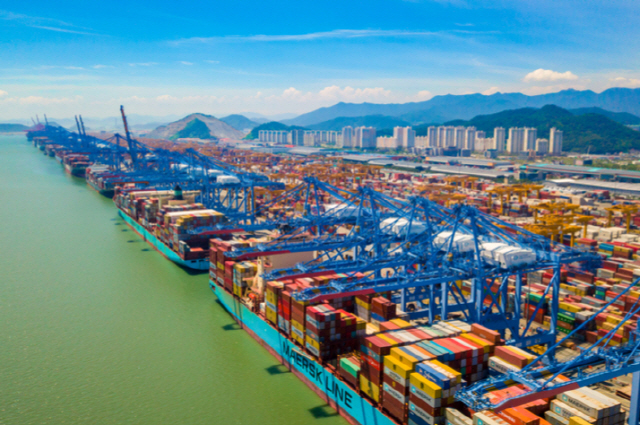 Blockchain network used to upgrade port logistics