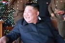 보란듯이…'활짝 웃는 김정은' 사진 공개한 北