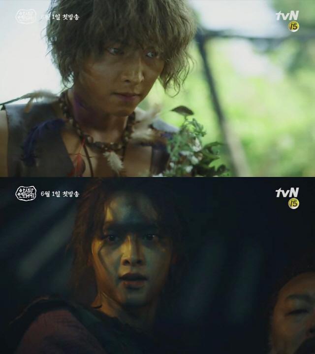 '아스달 연대기' 장동건-송중기, 시선 저격 '캐릭터 티저' 전격 공개