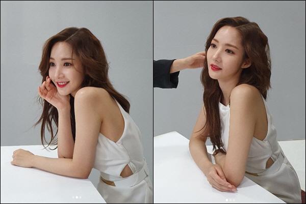 박민영 '이렇게 예뻐도 되나요?' 순백의 섹시美로 가득한 투명 미모