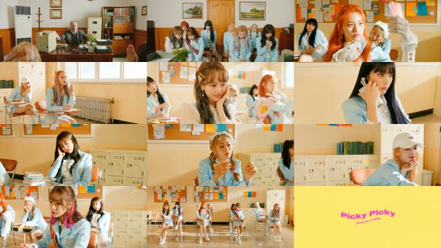 컴백 위키미키, 타이틀곡 'Picky Picky' MV 2차 티저 공개
