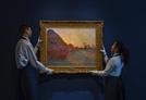 모네의 '건초더미' 1,318억원에 팔렸다…모네 작품 중 최고가