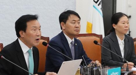 """손학규 """"지역구 유지·의원정수 확대하는 연동형 비례제 논의해야"""""""