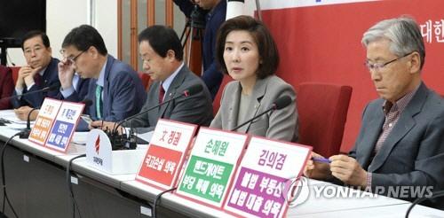 나경원 '청와대 나설수록 정국 마비, 차라리 뒤로 빠져라'