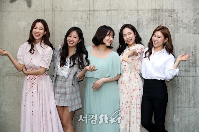 송가인-정미애-홍자-정다경-김나희, '미스트롯' 눈부신 존재감 (인터뷰 포토)