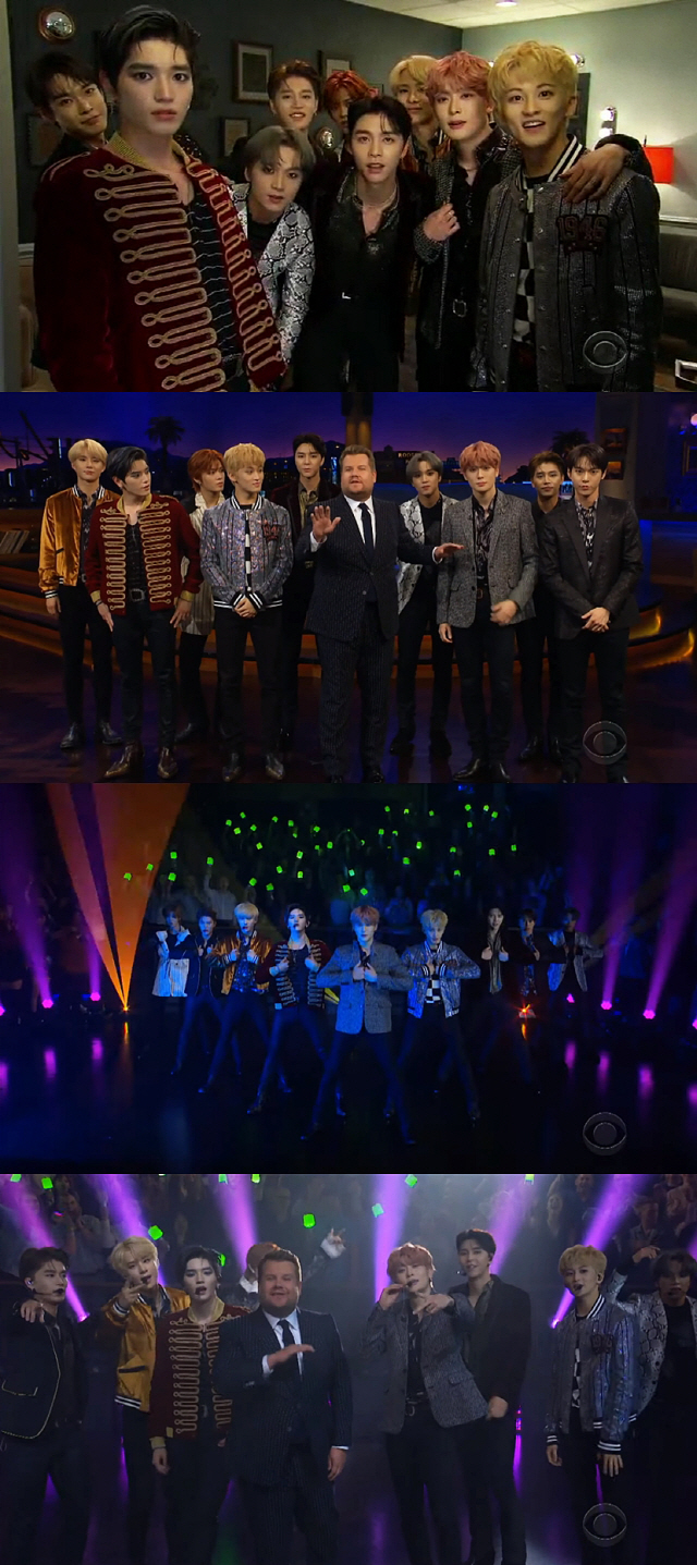 NCT 127, 'Superhuman' 무대+유쾌한 매력에 美 시청자 푹 빠졌다