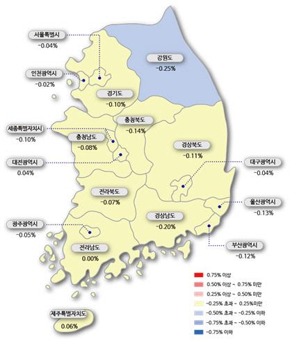 3기 신도시 발표에..일산 집값 낙폭 확대