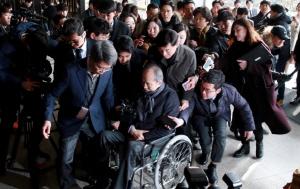'뇌물 수수' 이상득 전 의원 동부구치소 수감