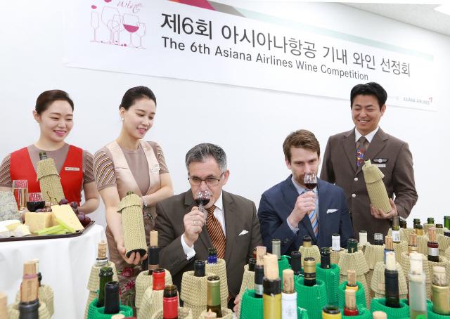 아시아나 비행기 탈 와인은