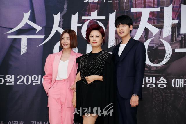 김혜선-신다은-박진우, 훈훈한 주역들 (수상한 장모 제작발표회)