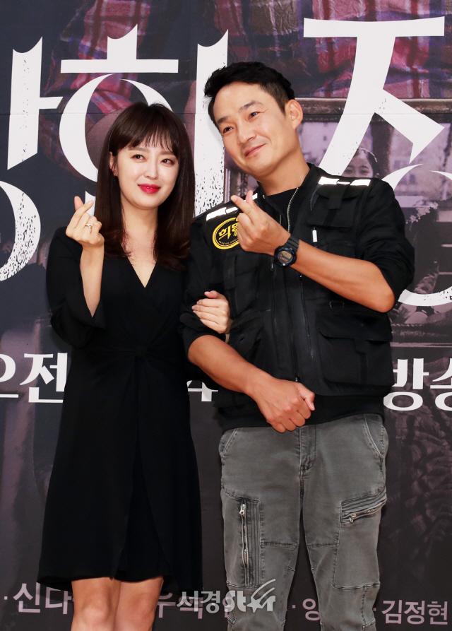 안연홍-김정현, 달달한 하트 (수상한 장모 제작발표회)