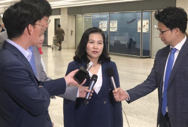 유명희, '한국차 관세 여부 예단할 수 없어.. 美 주요 인사들 한국정부 노력 긍정 평가'