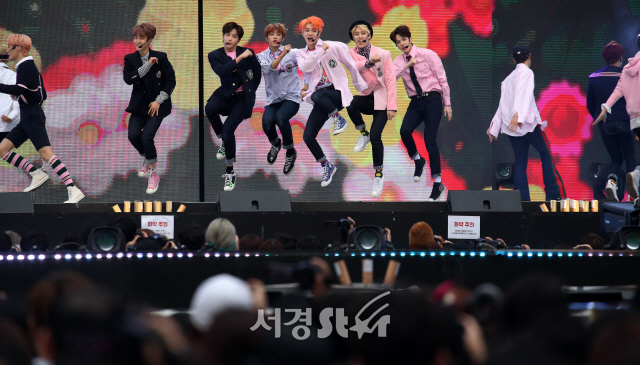 더보이즈, 파워풀한 무대 (2019 드림콘서트)