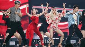 카드 전지우-제이셉-비엠-전소민, 신나게 (2019 드림콘서트)