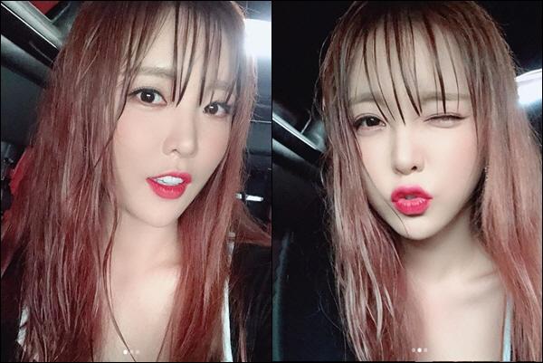 홍진영 비에 흠뻑 젖으니 더 섹시해…'물미역' 패션도 소화하는 미모
