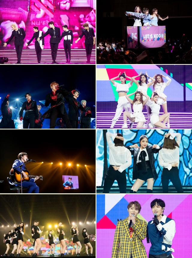 'KCON 2019 JAPAN' K-POP 대표 아티스트 활약에 역대 최다 8만 8천 관객 환호