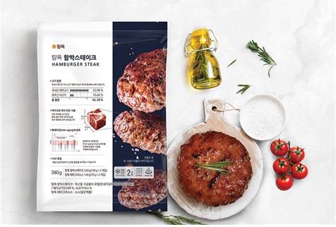 탐육, 냉동 가정간편식 '탐육 함박스테이크' 출시