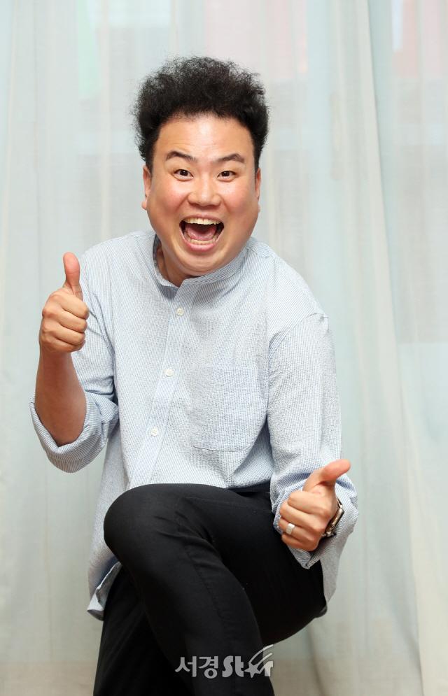 채경선, '옹알스' 최고야! (인터뷰 포토)