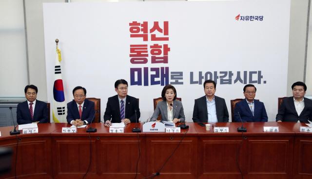 김무성 '현 정부 좌파사회주의..조세저항운동 벌이자'