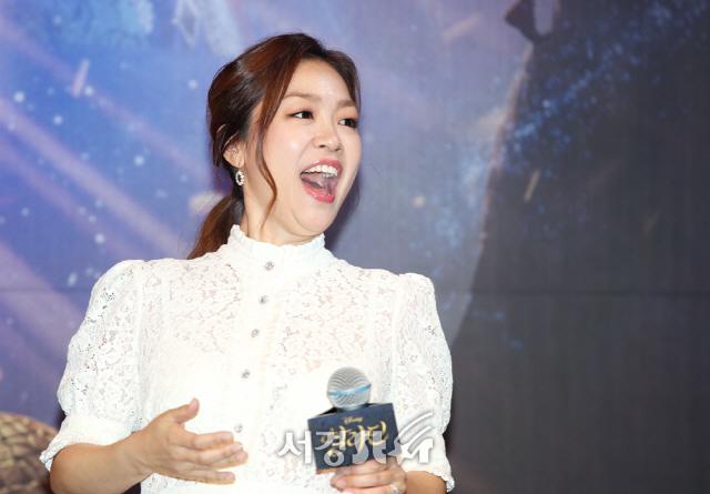 박정현, 알라딘 OST 함께해 영광 (뮤직 쇼케이스)