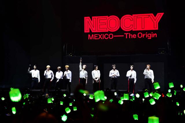 NCT 127, 북미 이어 남미도 뜨겁게 달궜다..현지 관객 폭발적인 호응