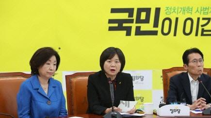 정의당 원내대표 '추대' 관례 깨지나…심상정 의원 경선 돌발제안