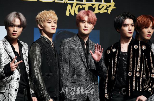 """[종합] NCT 127 '슈퍼휴먼'으로 컴백 """"韓·美 1위가 목표"""""""