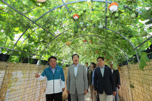 李총리 '취미·위안·체험 목적의 도시농업 나날이 확대'