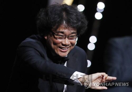 [칸영화제 황금종려상] 봉준호 '한국영화 100주년에 칸이 주는 선물'