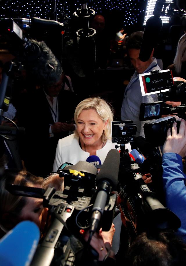 (유럽의회선거 2019)佛 극우정당, 출구조사 1위...마크롱 정부 타격 불가피