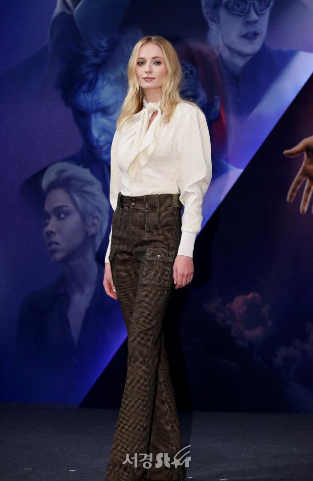 '엑스맨' 소피 터너, 빛나는 미모 (내한 기자간담회)