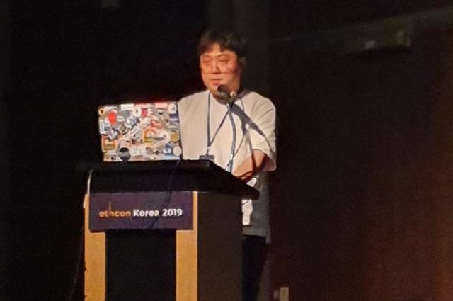 [이드콘 한국 2019]해치랩스 개발자 '이더리움 주소로 여권 대체할 수 있다'