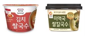 달아오르는 건면 시장, 대상도 '컵 쌀국수' 2종으로 출사표