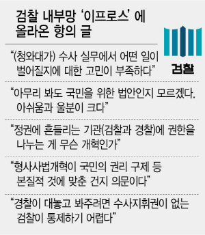 '장관이 3자인양 내부 더 자극' 대검조차 격앙