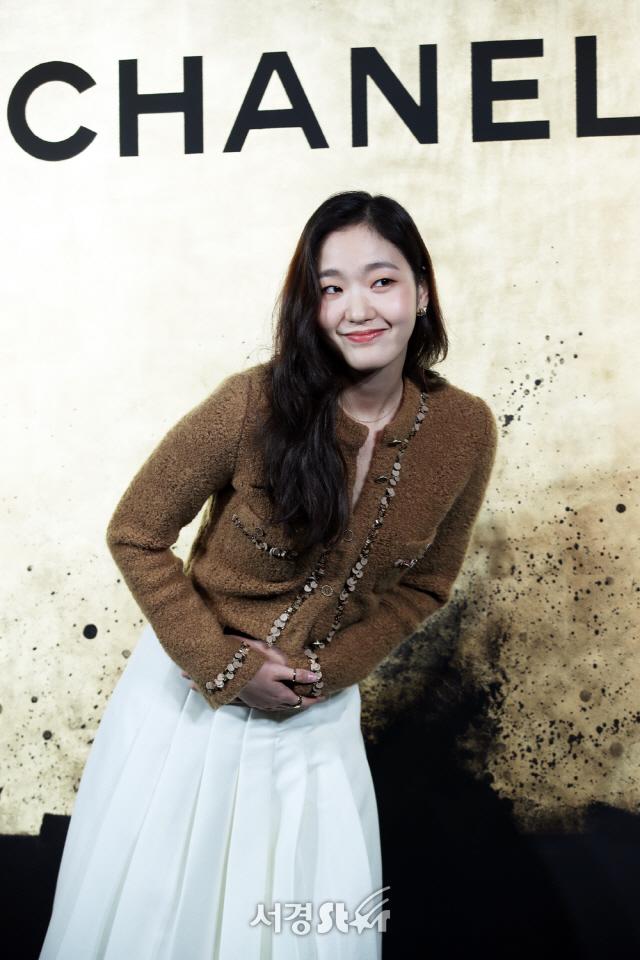 김고은, 배꼽 인사