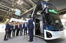 최초로 공개된 현대자동차의 2층 전기버스