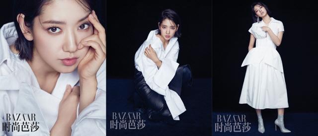 박신혜, 중국 패션 매거진 '하퍼스 바자' 6월호 공개 '압도적 아우라'