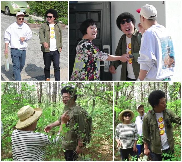 '모던 패밀리' 박원숙, 등산길도 없는 험한 숲속 탐험에 '멘붕'