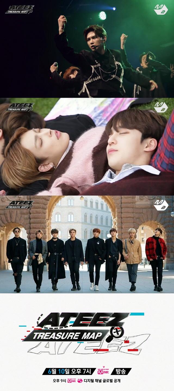 에이티즈, Mnet에서 이례적인 120분 특별 편성 컴백..국내외 팬 기대UP