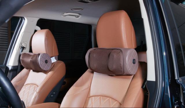 [혁신성장 전도사, 명품 강소기업] 2 해피룸 '휴플러스 차량용 안마기'