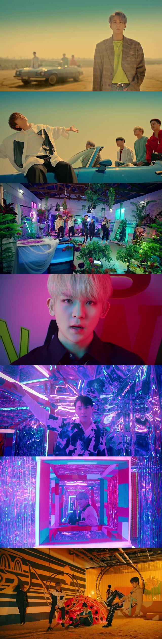 틴탑, 'Run Away' 뮤직비디오 공개..어른 섹시의 재해석