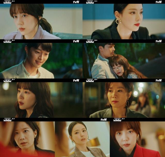 '검블유' 임수정·이다희·전혜진, 본격 전쟁의 서막..시청률 대폭 상승