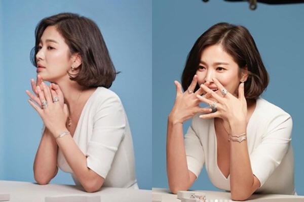 송혜교, 고혹적인 섹시美 보석보다 예쁜 미모에 '시선집중'