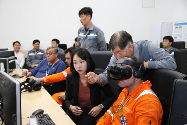 대우조선해양, VR 기반 선원교육시스템 개발