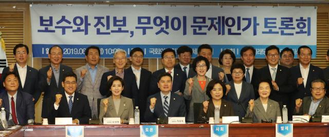 나경원 '문재인 정부 우파 목소리 외면..미래없다'