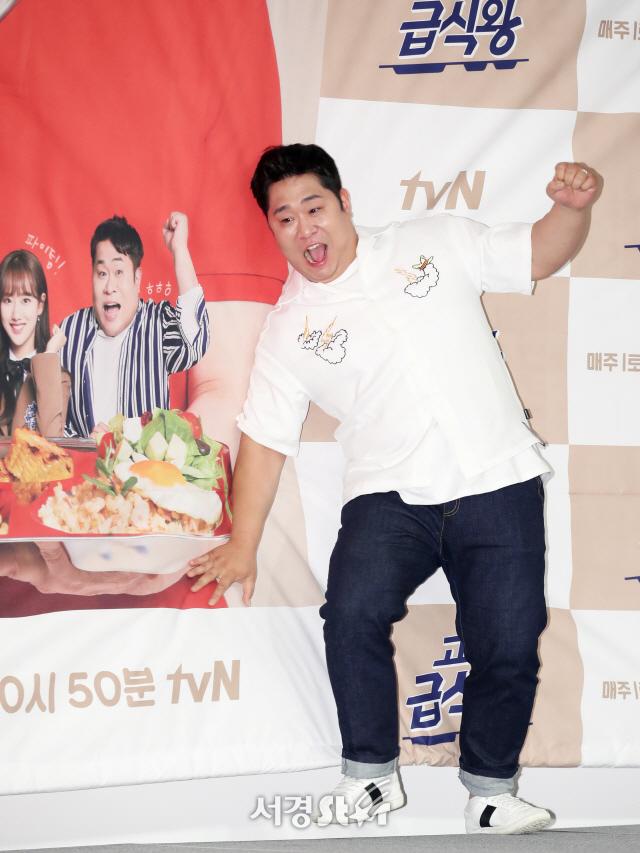 문세윤, 아! 발이~ (고교급식왕 제작발표회)
