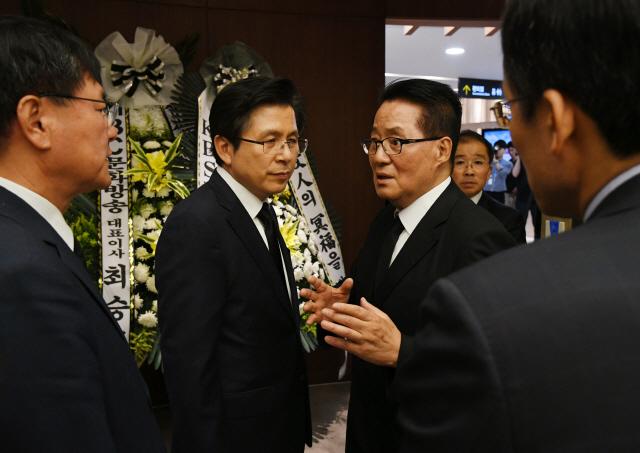 박지원·정세현 '北조문단 올것..남북정상회담도 기대'