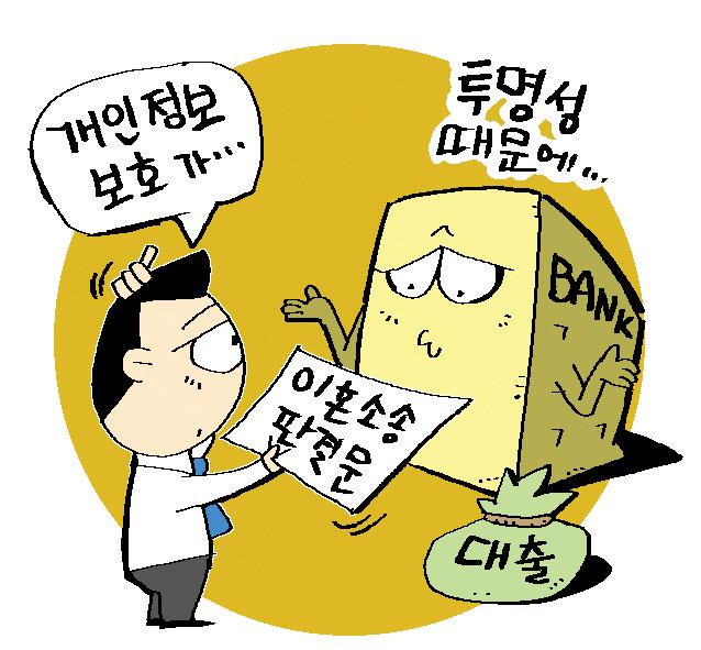황당한 대출규제...이혼소송 자료까지 요구하는 은행