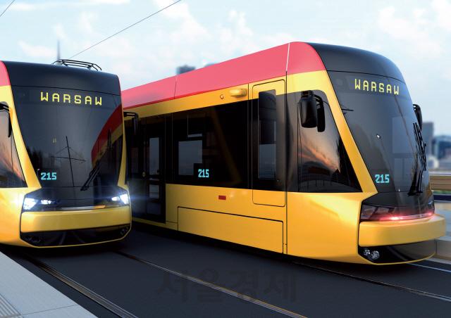 현대로템, 바르샤바에 3,358억원 규모 트램 공급…폴란드 시장 첫 진출