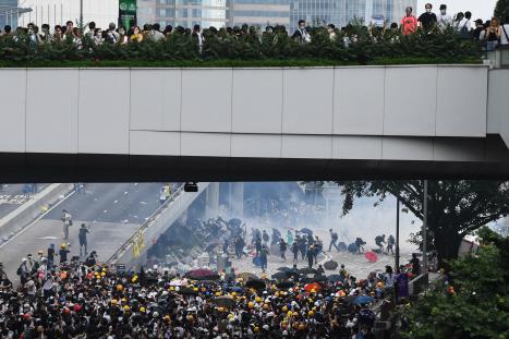 中, 홍콩 '범죄인 인도 법안'에 '여전히 지지'